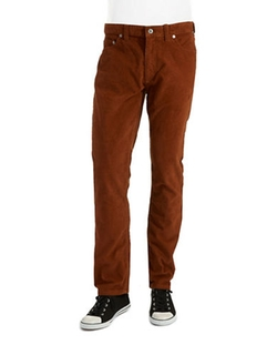 Black Brown 1826  - Tailored Cords Pants