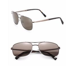 Ermenegildo Zegna - Double-Bridge Metal Sunglasses
