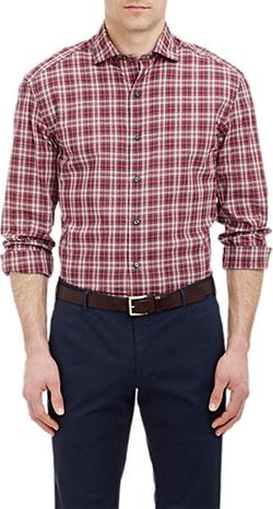 Barneys New York  - Poplin Shirt