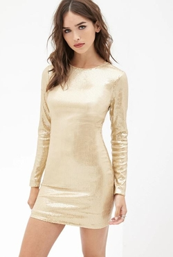 Forever 21 - Sequined Bodycon Dress