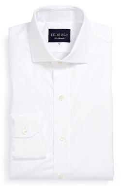 Ledbury  - Classic Fit Solid Dress Shirt