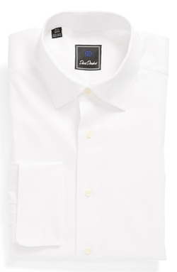 David Donahue  - French Cuff Regular Fit Dress Shirt