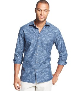 Tommy Bahama  - Jacquard Shirt