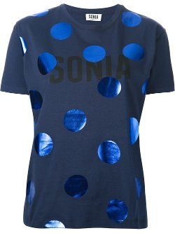 Sonia By Sonia Rykiel  - Large Polka Dot T-shirt