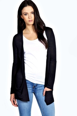 Boohoo  - Jade Pocket Fine Gauge Cardigan