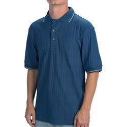 Sierra Trading Post - Woven Blend Polo Shirt