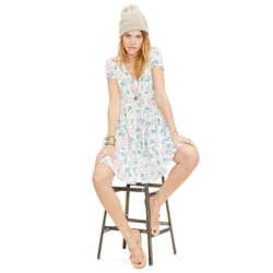 Denim & Supply Ralph Lauren - Floral Button Front Dress