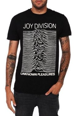 Hot Topic - Joy Division Unknown Pleasures T-Shirt