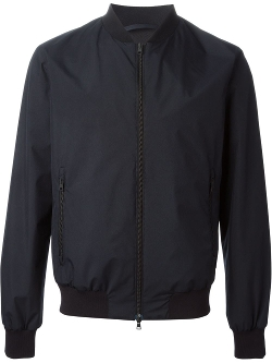 Herno - Zipped Bomber Jacket