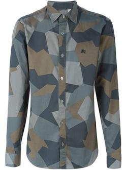 Burberry Brit - Geometric Pattern Shirt