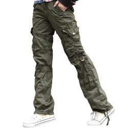 Newfacelook - Combat Cargo Cotton Military Trousers Pants