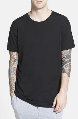 Topman - Longline Crewneck T-Shirt