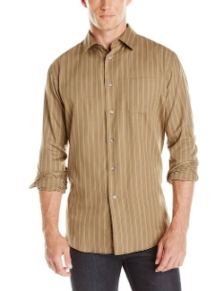 Van Heusen - Fine Stripe Button Down Shirt