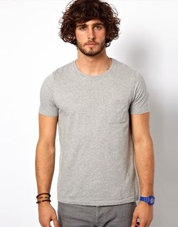 Asos - T-Shirt with Pocket