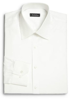 Saks Fifth Avenue Collection  - Regular-Fit Solid Dress Shirt
