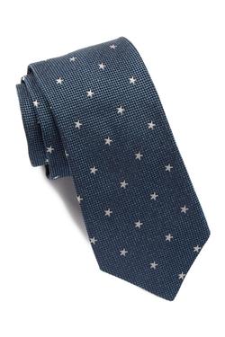 John Varvatos Star USA - Star Print Silk Tie