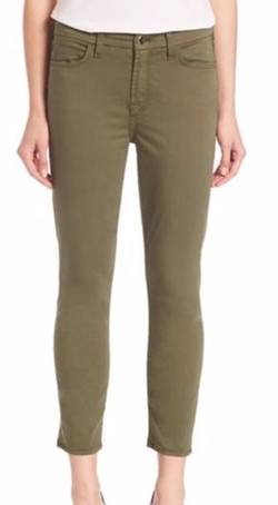Jen7  - Sateen Slim-Straight Jeans