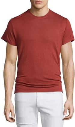 IRO - Jaoui Short-Sleeve Linen T-Shirt