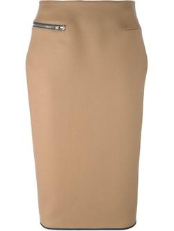 Victoria Beckham - Zip Detail Pencil Skirt