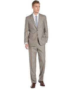 Brioni - Striped Grey Wool 2-Button Suit With Pleated Pants