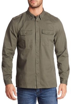 Wesc - Long Sleeve Cotton Shirt
