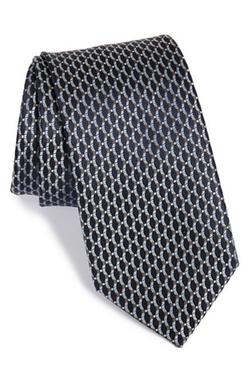 Brioni - Geometric Print Silk Tie