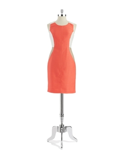Anne Klein - Colorblock Shift Dress