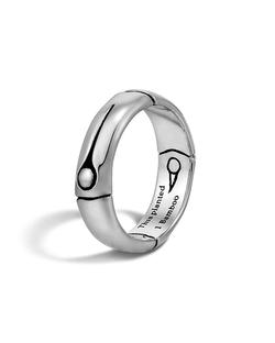 John Hardy - Bamboo Silver Band Ring