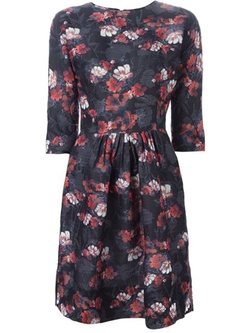 Ermanno Scervino - Floral Jacquard Dress