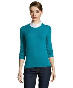 Magaschoni - Cashmere Crewneck Rolled Hem Sweater