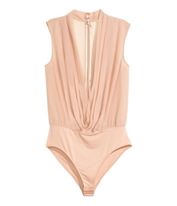 H&M - V-Neck Bodysuit