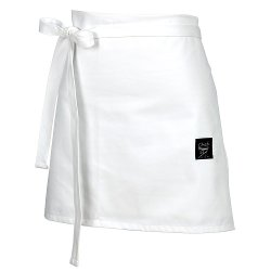Chef Revival - Knife & Steel Four Way White Bistro Apron