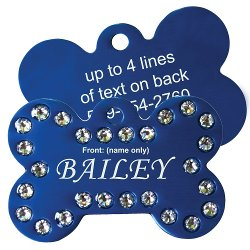 Go Tags - Swarovski Crystal Pet ID Tags