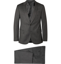 Gieves & Hawkes - Herringbone Wool And Cashmere-Blend Suit