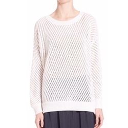 Vince - Mesh Stitch Pullover