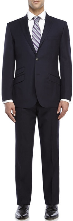 English Laundry - Solid Peak Lapel Suit