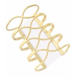 Vince Camuto - Crisscross Long Cuff Bracelet