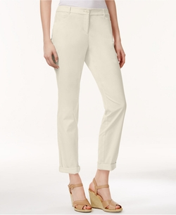 Charter Club - Slim-Fit Rolled Chino Pants