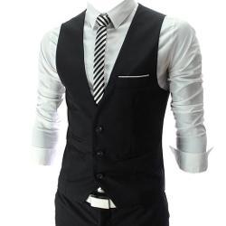 Zeagoo  - Men Fit Waistcoat Vest
