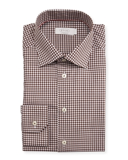 Eton   - Gingham Dress Shirt