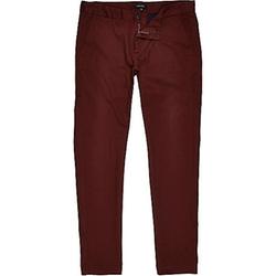 River Island - Rust Skinny Chino Pants