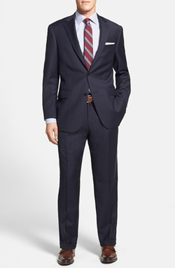Hart Schaffner Marx - Classic Fit Worsted Wool Suit