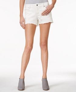 Armani Exchange - Colored Wash Cutoff Shorts