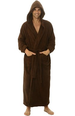 Alexander Del Rossa - Terry Cloth Cotton Bathrobe