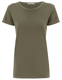 Alexa Chung - Faded Olive The Boyfriend T-Shirt