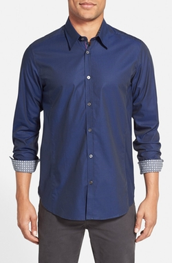 Ted Baker London  - Brunor Extra Trim Fit Check Sport Shirt