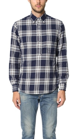 Gitman Vintage - Archive Flannel Check Button Down Shirt