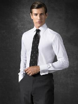 RALPH LAUREN PURPLE LABEL - Aston French Cuff Dress Shirt
