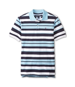 Tommy Hilfiger  - Kids Luke Stripe Yarn Dye Polo