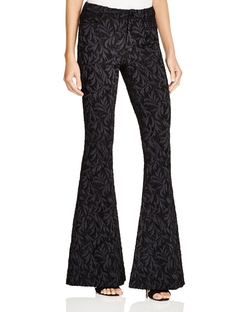 Alice + Olivia - Brocade Bell Bottom Pants